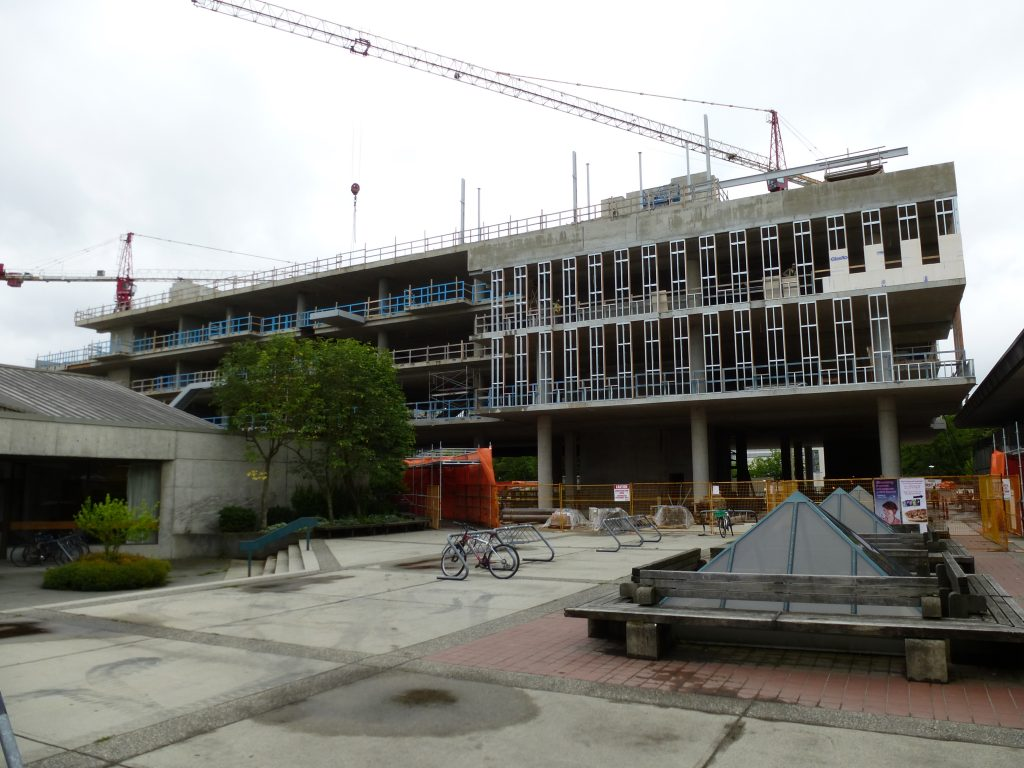 UBC construction